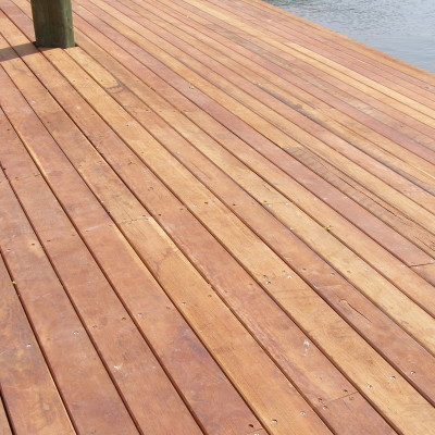 Solid Timber Decking