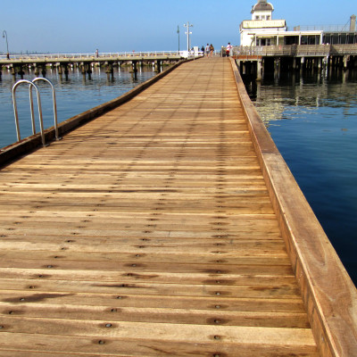 Timber for Jetties and Wharves